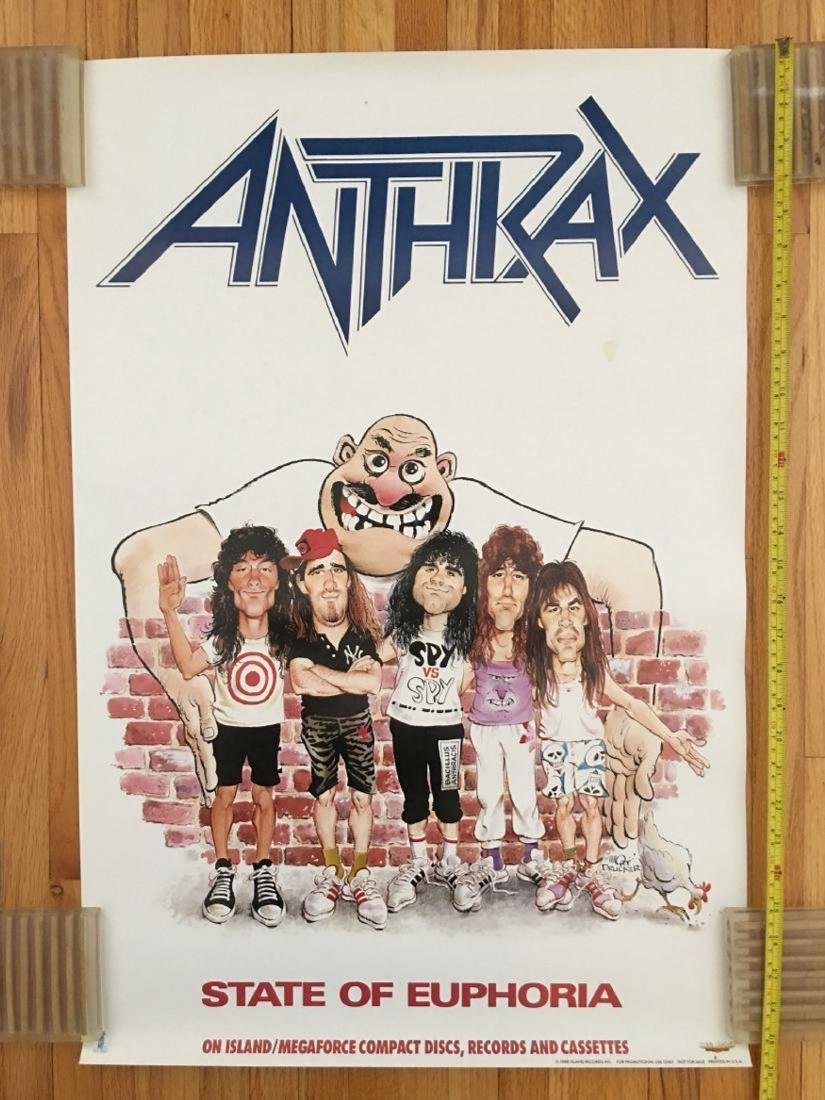 ANTHRAX STATE OF EUPHORIA POSTER