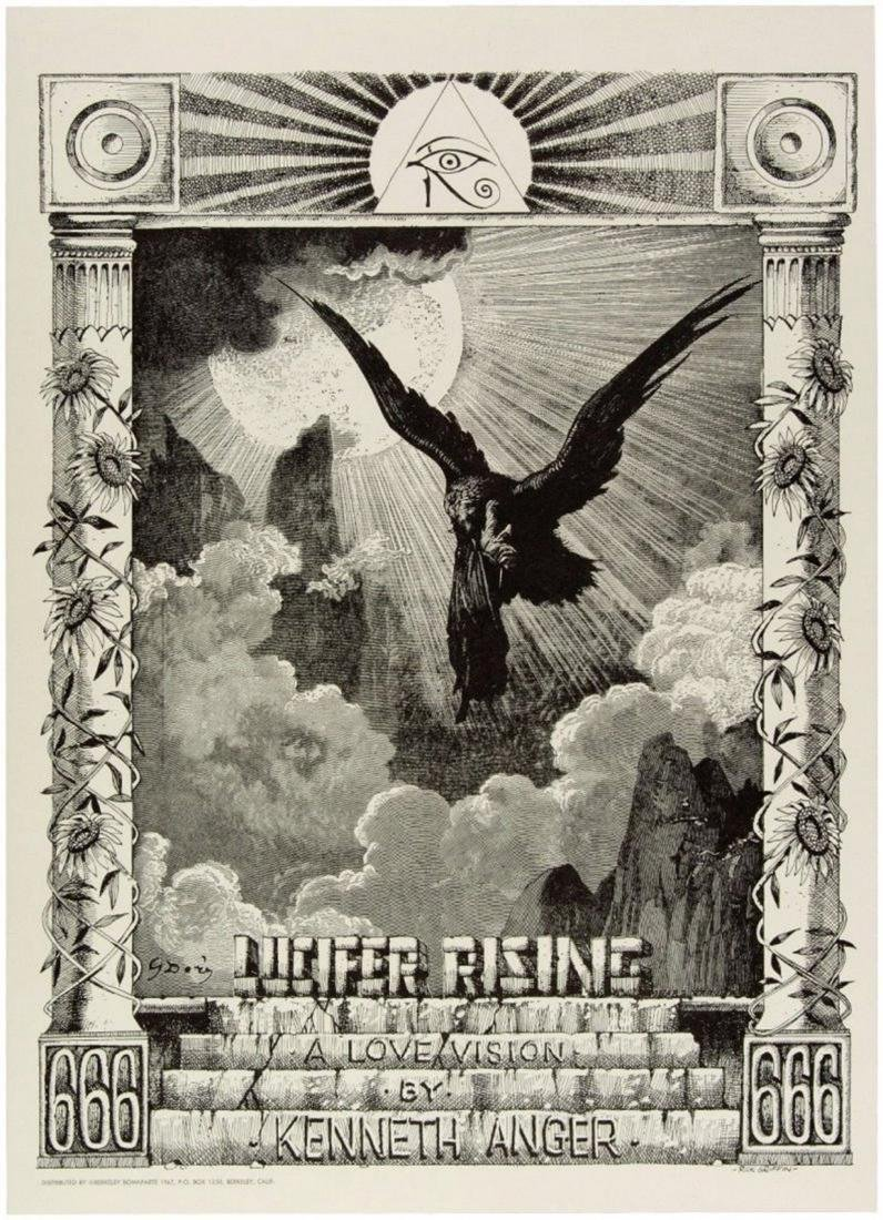 LUCIFER RISING Rick Griffin Original 60s