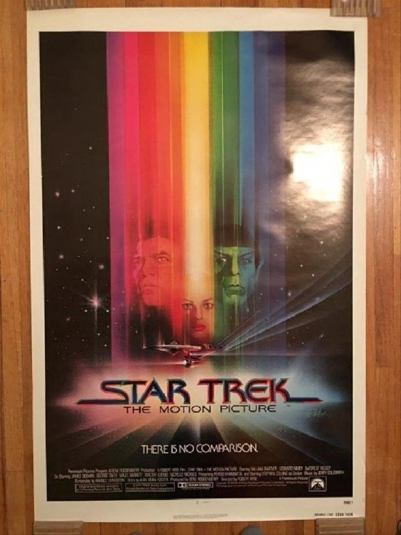 STAR TREK Original 1979 NEAR MINT Rolled advanced one