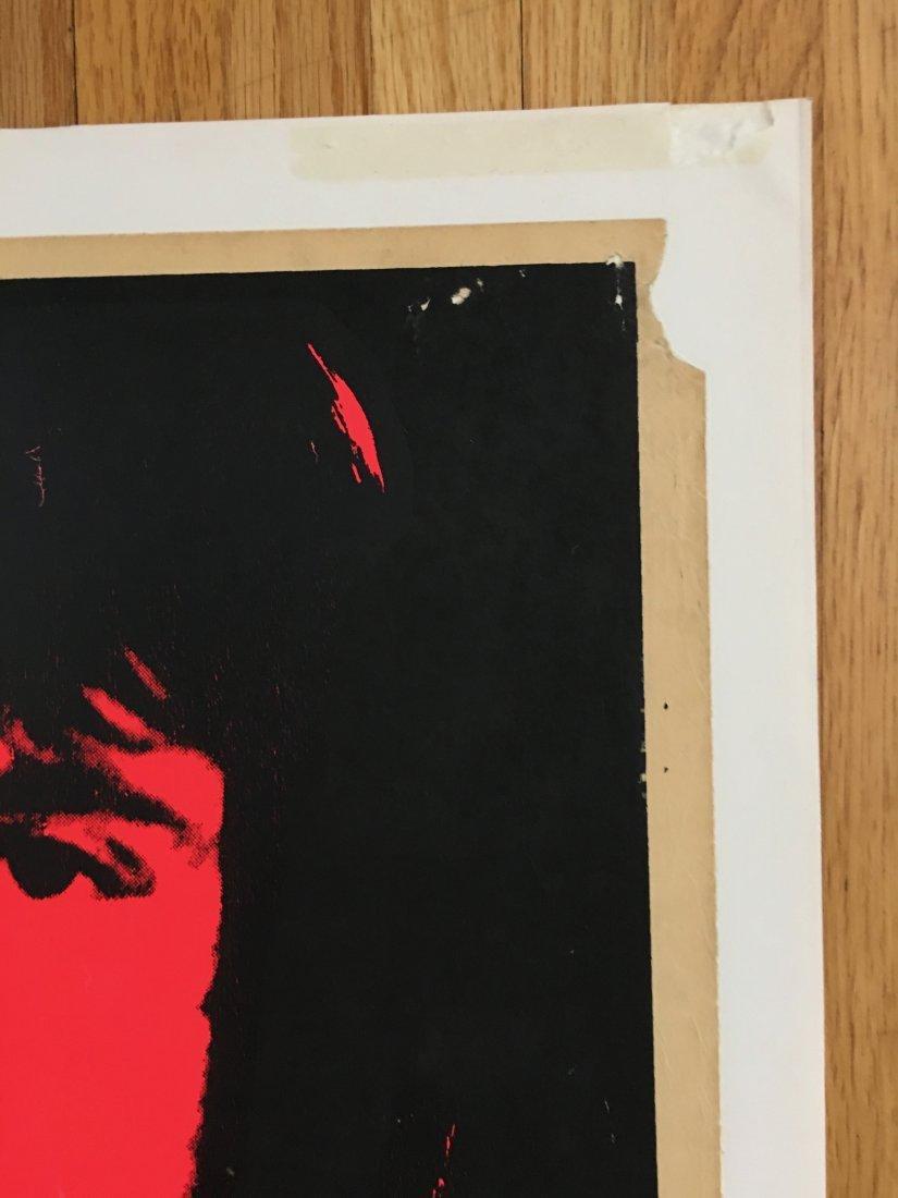 PAINFULLY RARE 1969 Led Zeppelin Atlanta Pop Poster - 3