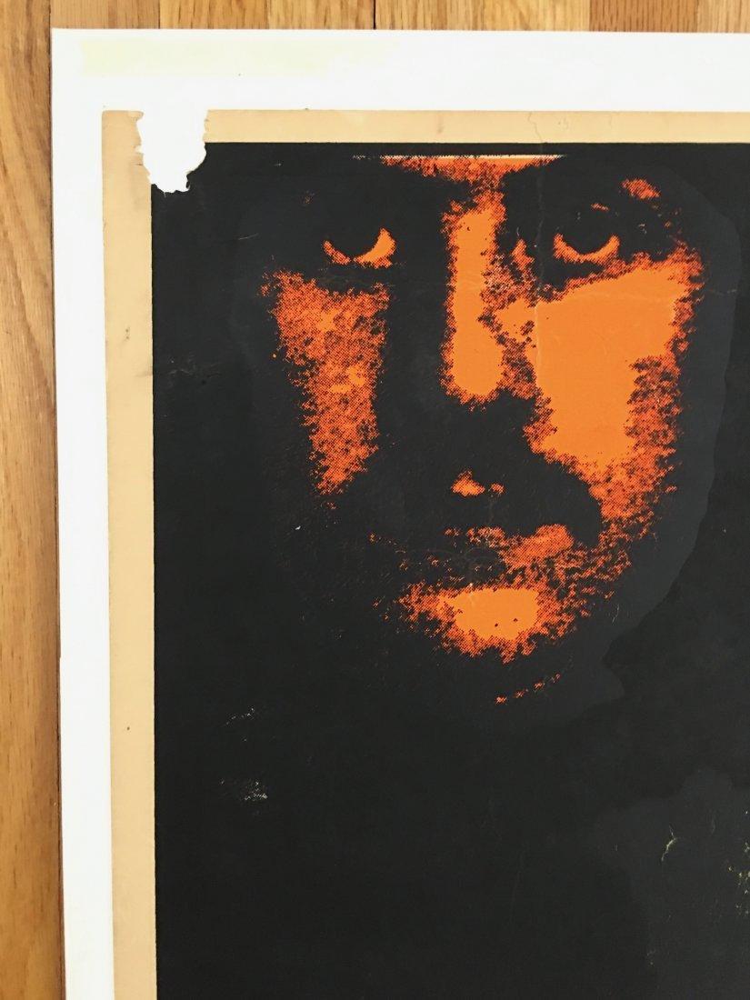 PAINFULLY RARE 1969 Led Zeppelin Atlanta Pop Poster - 5