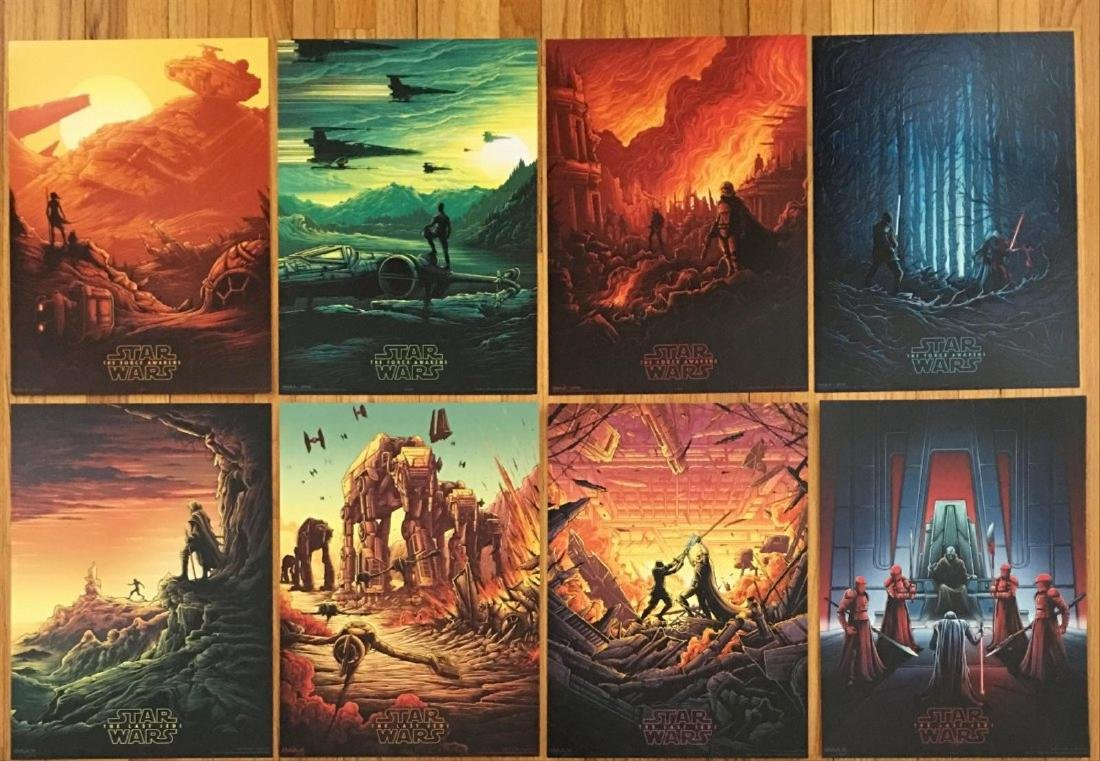 SUPER RARE STAR WARS LIMITED EDITION SET