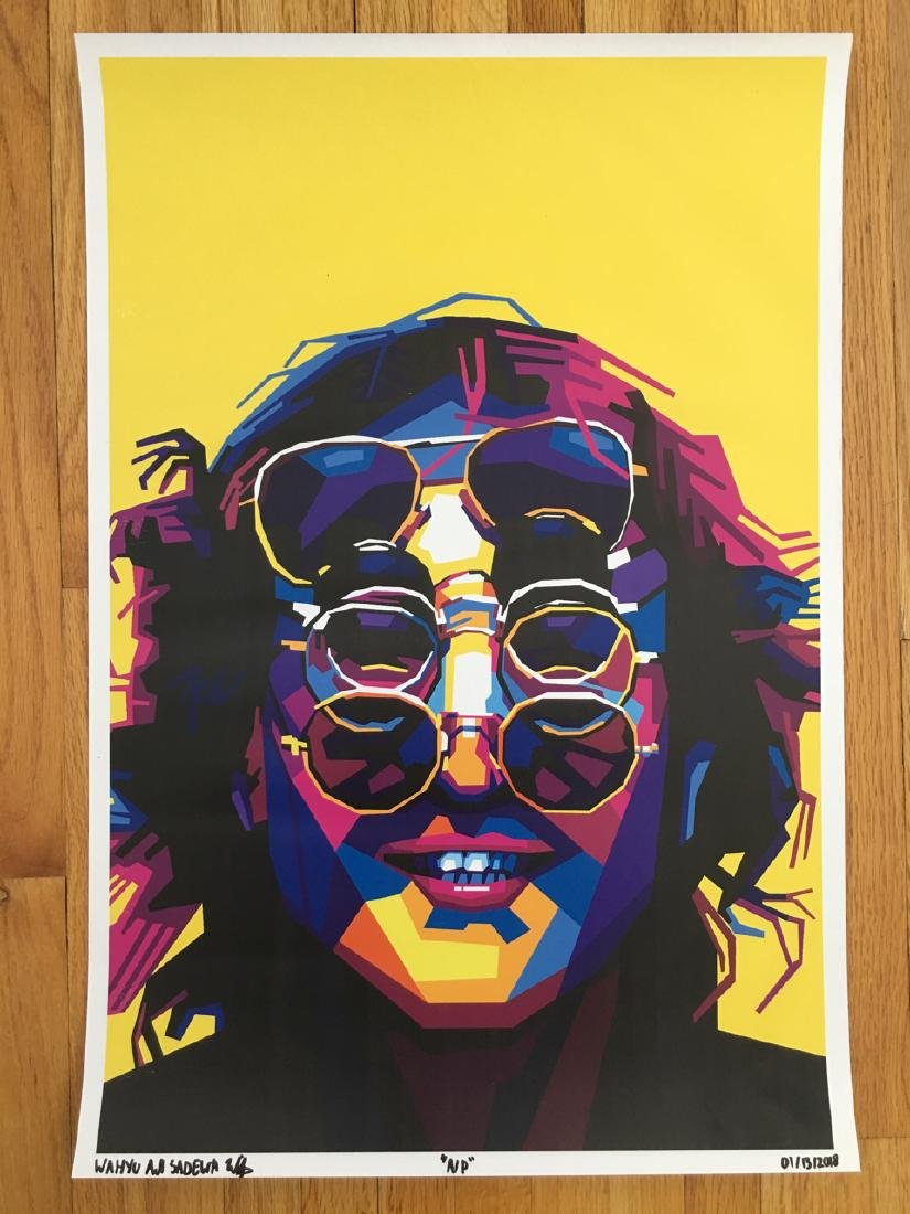 FIRST TIME OFFERED USA - LENNON GLASSES - ARTIST PROOF