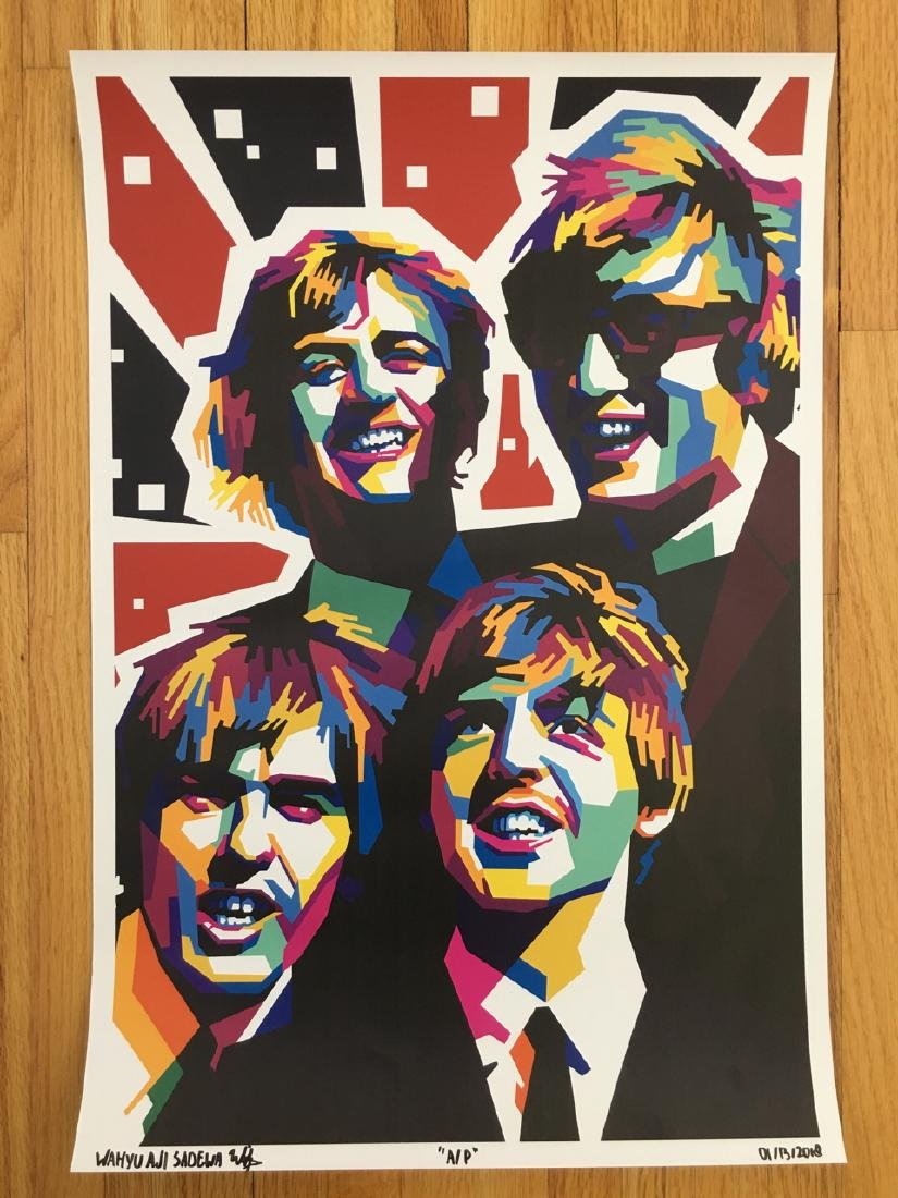 FIRST TIME OFFERED IN USA - BEATLES USA - ARTIST PROOF