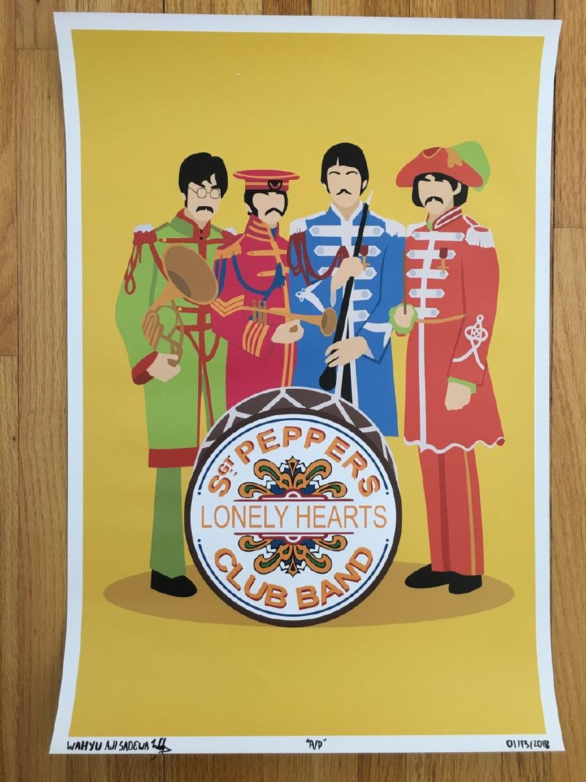 FIRST TIME OFFERED IN USA - SGT. PEPPERS - ARTIST PROOF