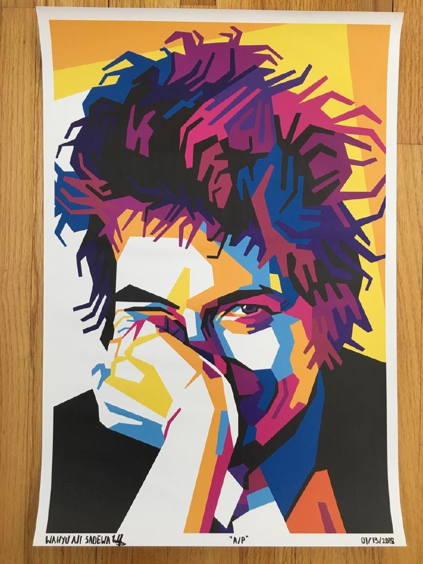 FIRST TIME OFFERED IN USA - BOB DYLAN 2 - ARTIST PROOF