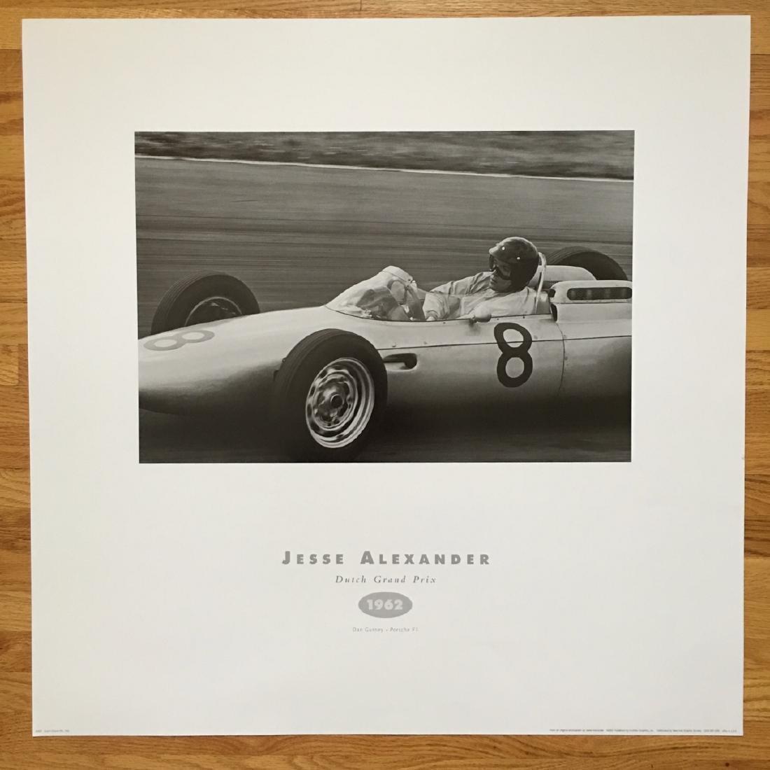 Jesse Alexander Grand Prix Poster