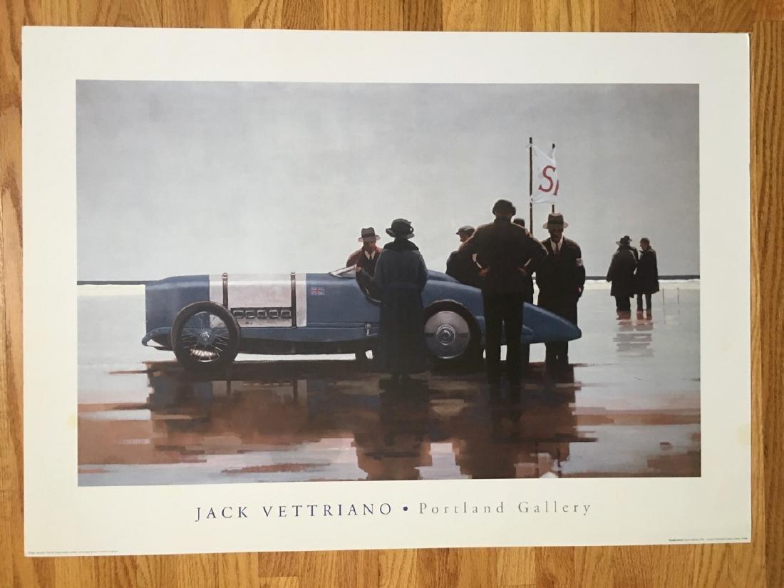 PENDINE BEACH Jack Vettriano Poster