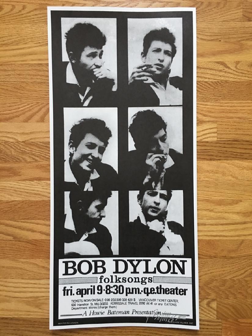 BOB MASSE - BOB DYLON / DYLAN - SIGNED