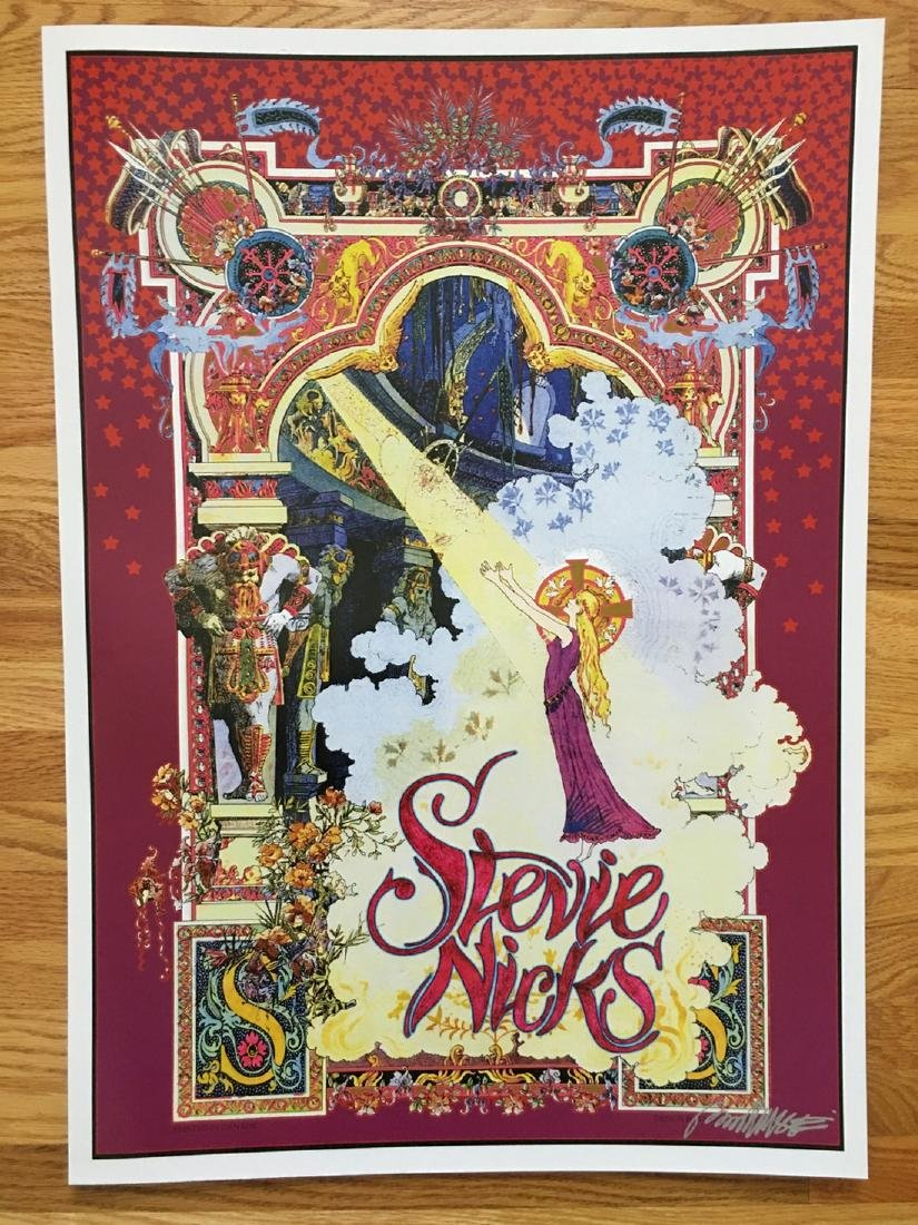 BOB MASSE - STEVIE NICKS - SIGNED