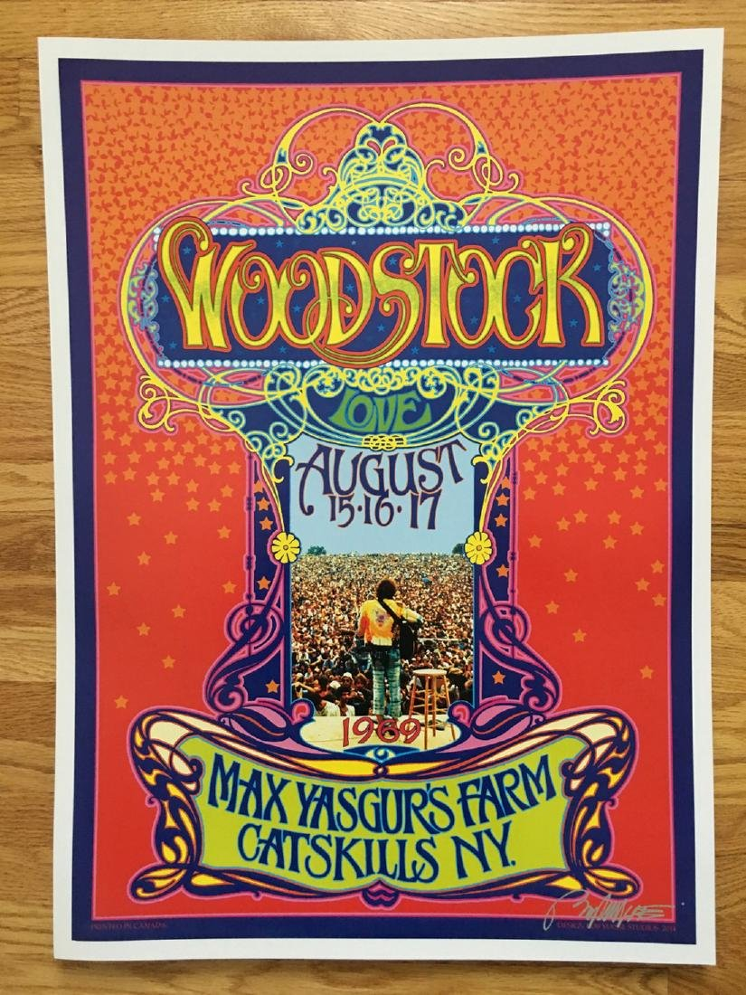 BOB MASSE - WOODSTOCK - SIGNED