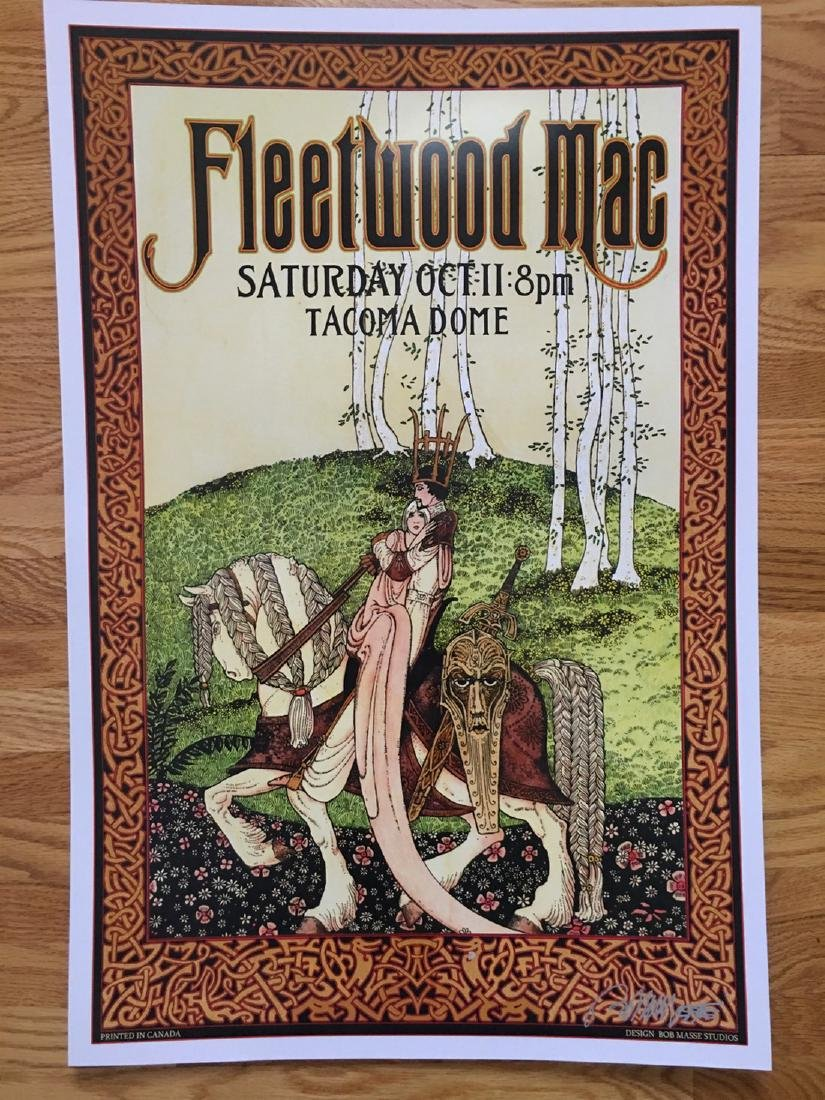 BOB MASSE - FLEETWOOD MAC TACOMA - SIGNED