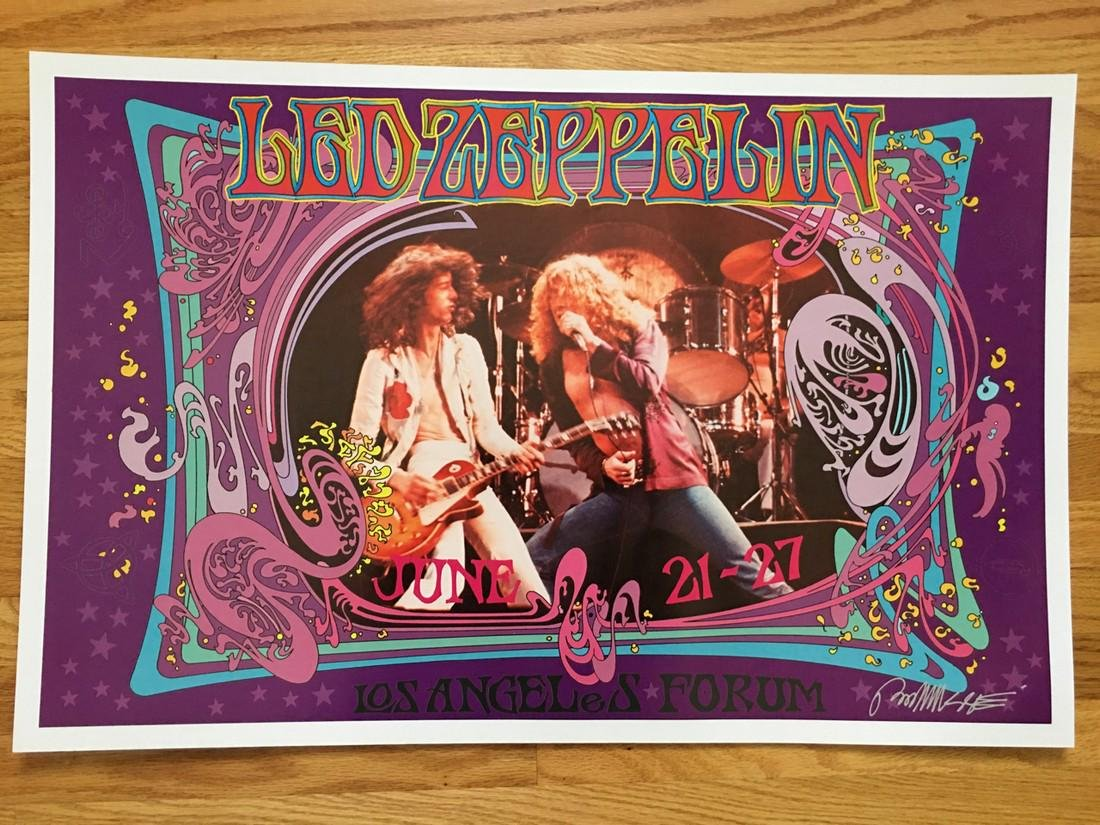 BOB MASSE - LED ZEPPELIN - SIGNED
