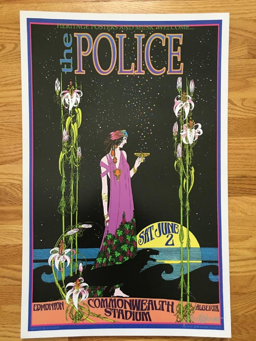 BOB MASSE - THE POLICE - SIGNED