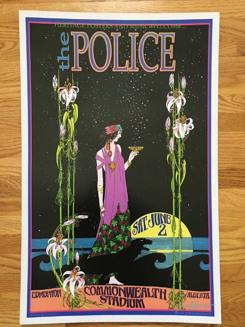 BOB MASSE - THE POLICE - SIGNED