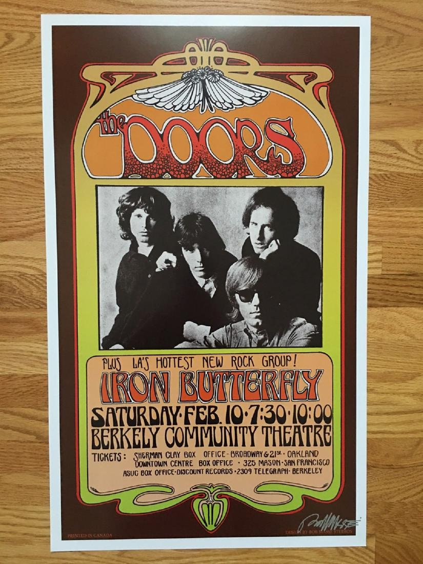 BOB MASSE - THE DOORS - SIGNED
