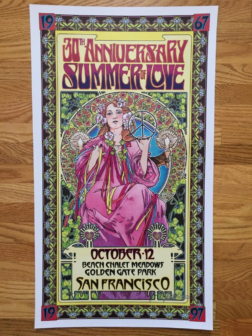 BOB MASSE - SUMMER OF LOVE - SIGNED
