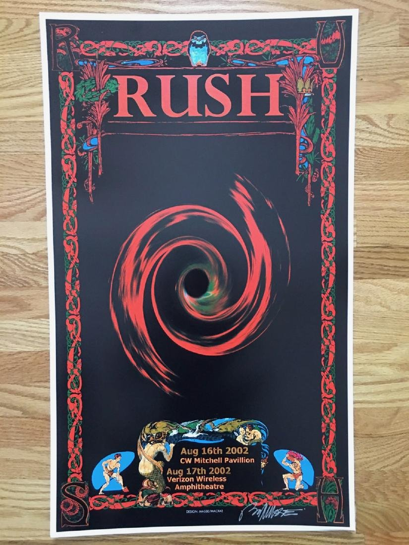 BOB MASSE - RUSH - SIGNED