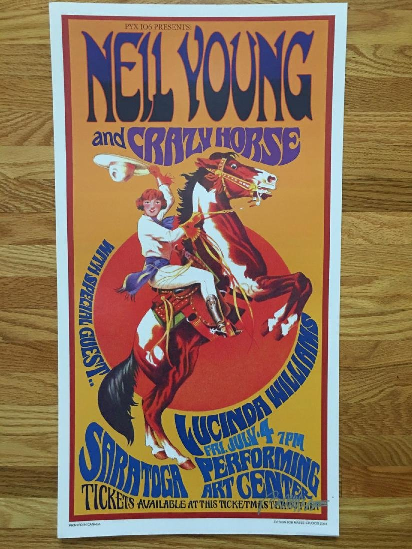 BOB MASSE - NEIL YOUNG - SIGNED