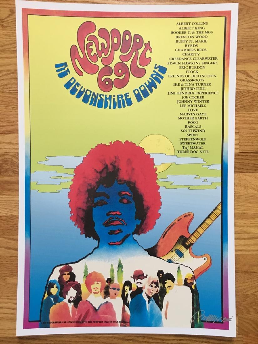 BOB MASSE - NEWPORT 69 - SIGNED
