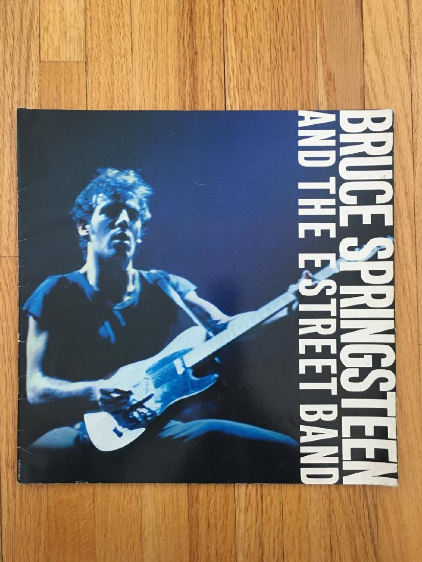 BRUCE SPRINGSTEEN TOUR BOOK 1980