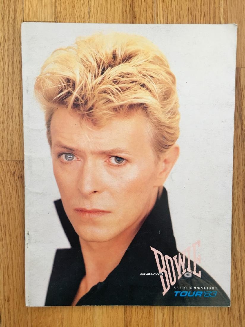 DAVID BOWIE TOUR BOOK 1983