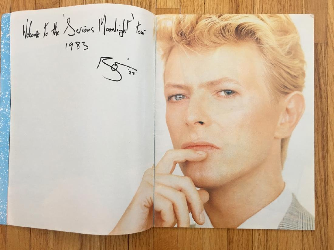 DAVID BOWIE TOUR BOOK 1983 - 2