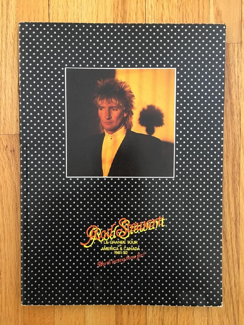 ROD STEWART TOUR BOOK 1981/1982