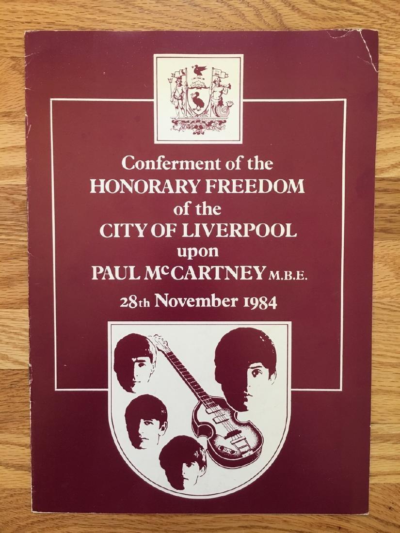 CONFERMENT FOR PAUL MCCARTNEY
