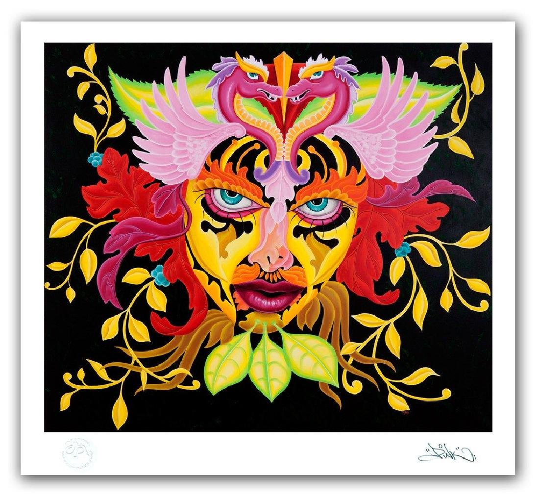 """LADY PINK- """"Lady of The Leaf"""" Print"""