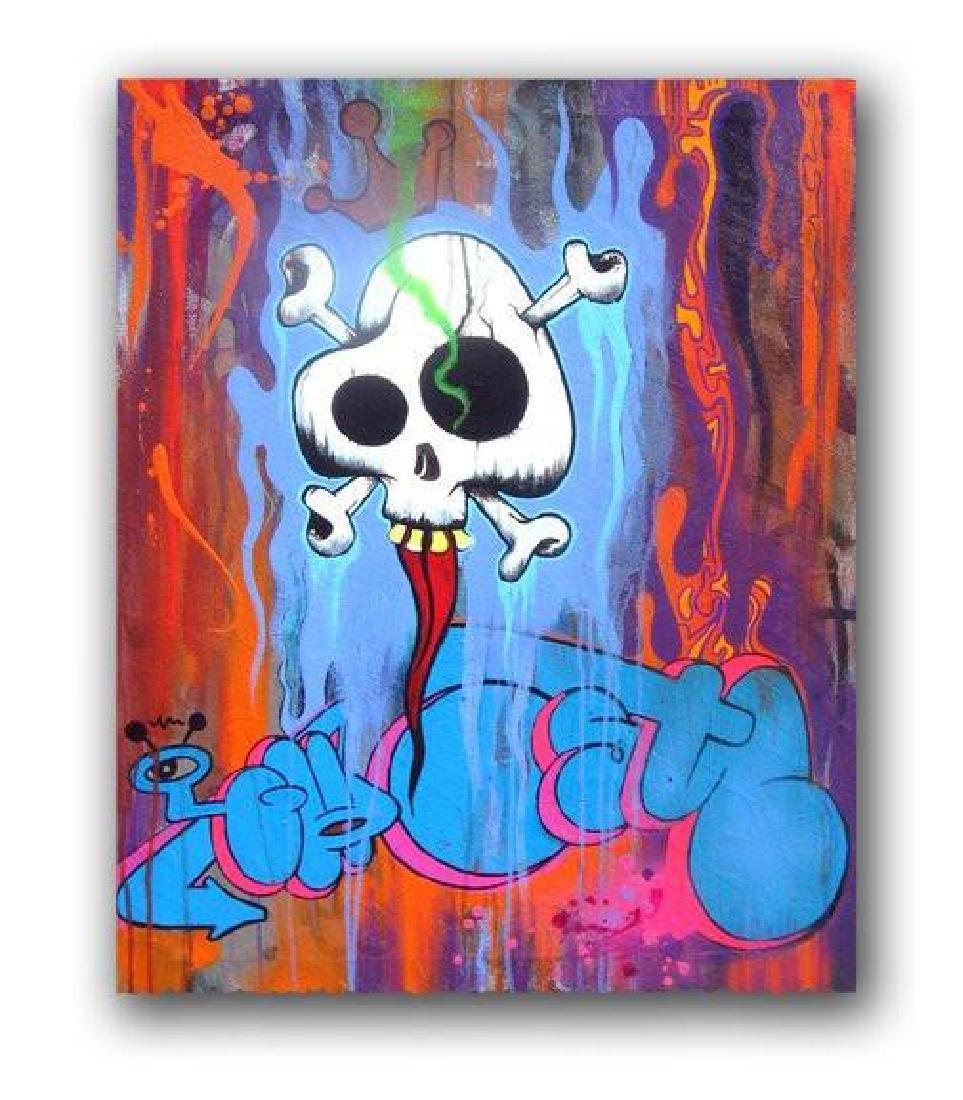 Graffiti Artist GHOST - Print