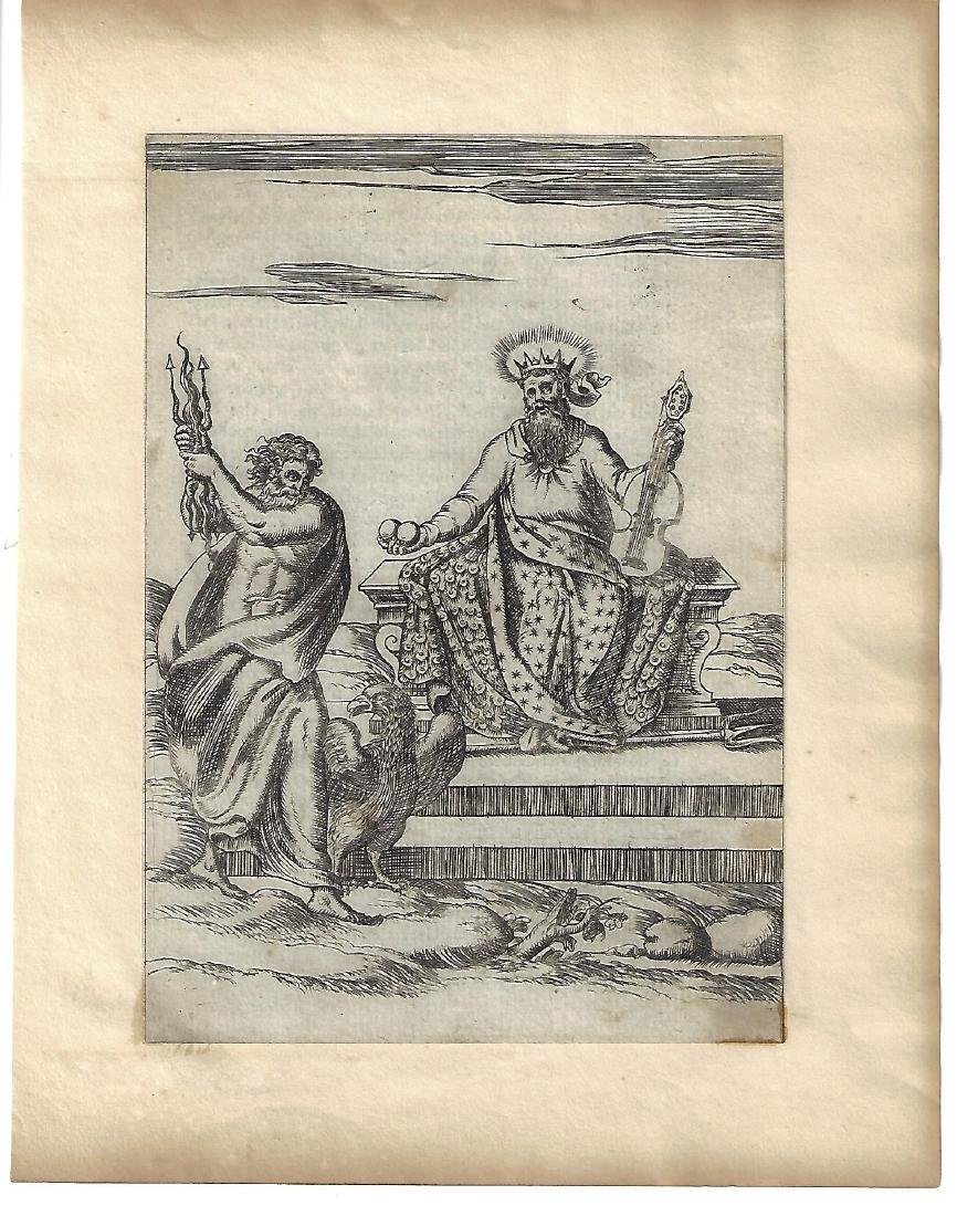 1587 Engraving by Cartari Mythology