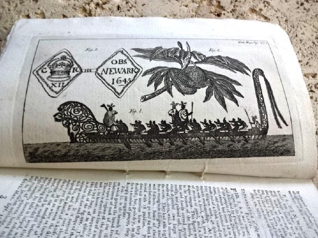 1773 Gentleman's Magazine Voyage Around World Wallis