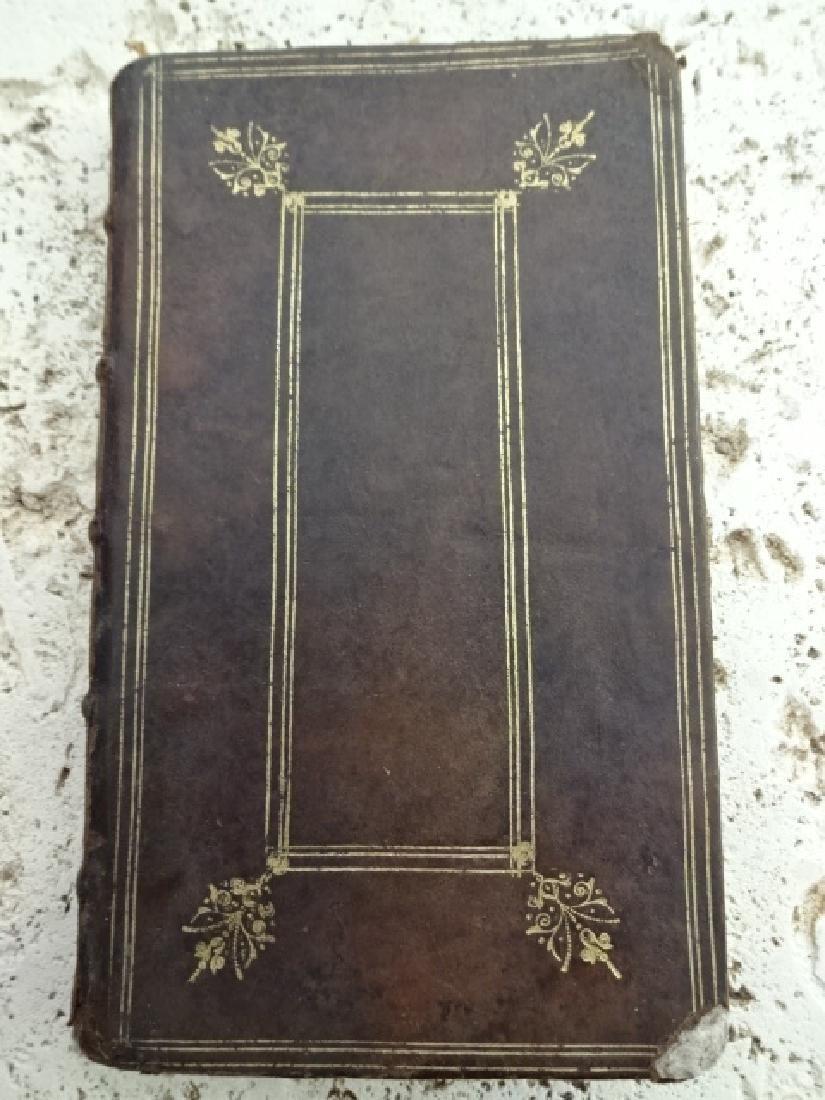 1656 FINE BINDING Leather Piissimi Deum Affectus Cordis