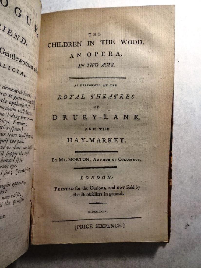18th C Volume of English Plays Arden of Faversham - 2