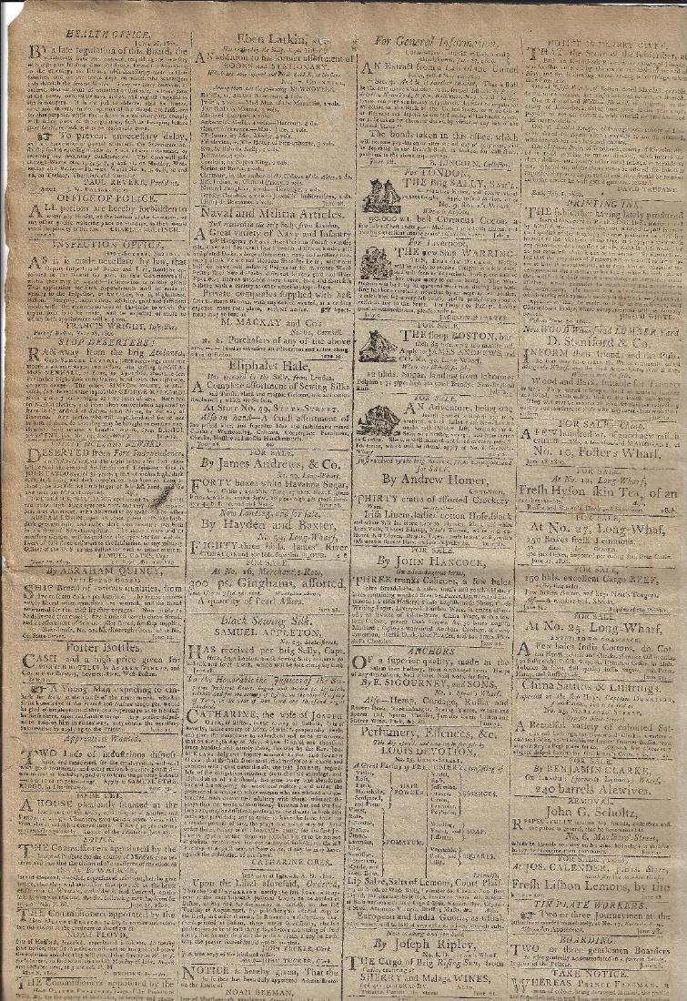 July 5 1800 Federalist Newspaper Anti-Jefferson Ads - 2
