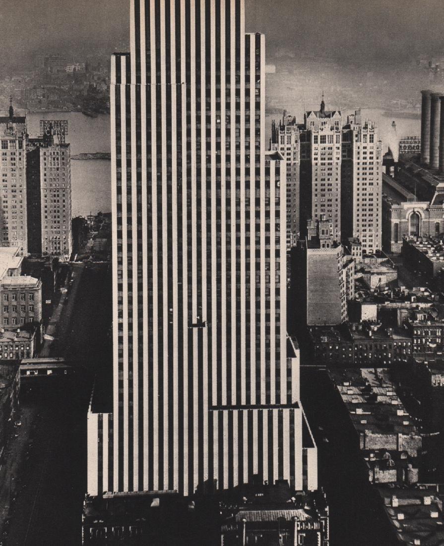 BERENICE ABBOTT - Skyscraper