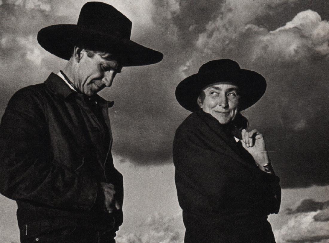 ANSEL ADAMS - Georgia O'Keeffe & Orville Cox