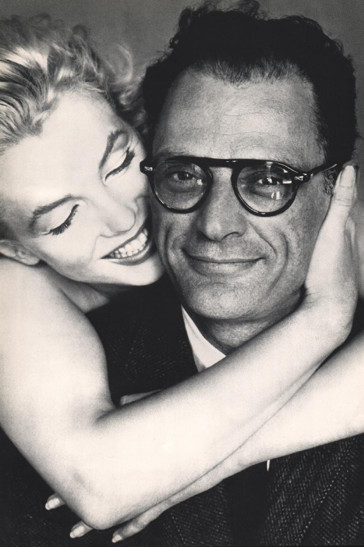 RICHARD AVEDON - Marilyn Monroe & Arthur Miller