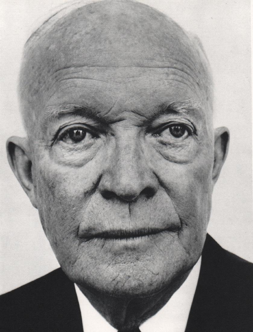 RICHARD AVEDON - Dwight D. Eisenhower