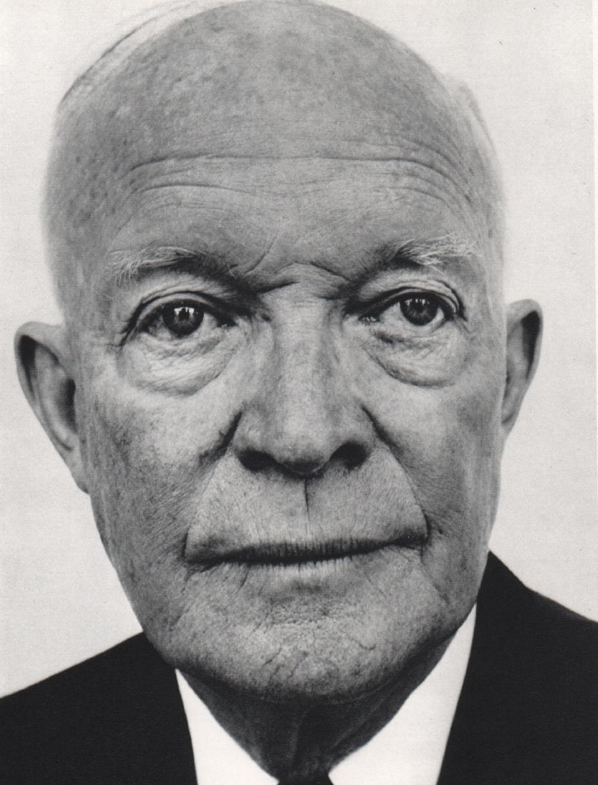 RICHARD AVEDON - Dwight D. Eisenhower
