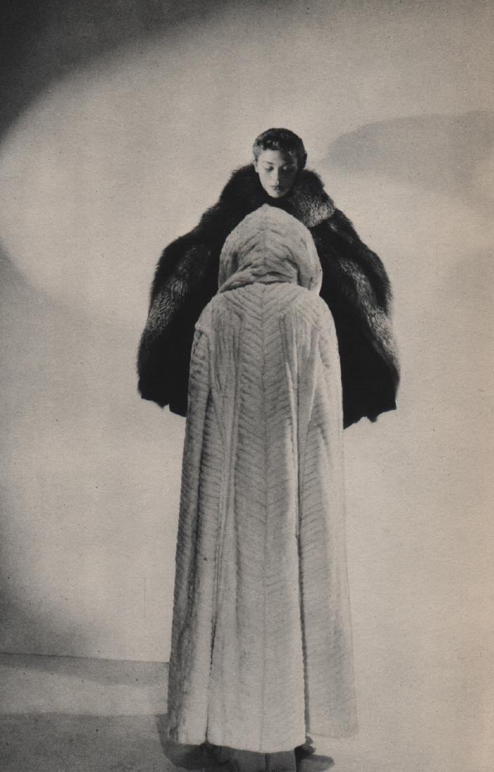 CECIL BEATON - Fur Coats