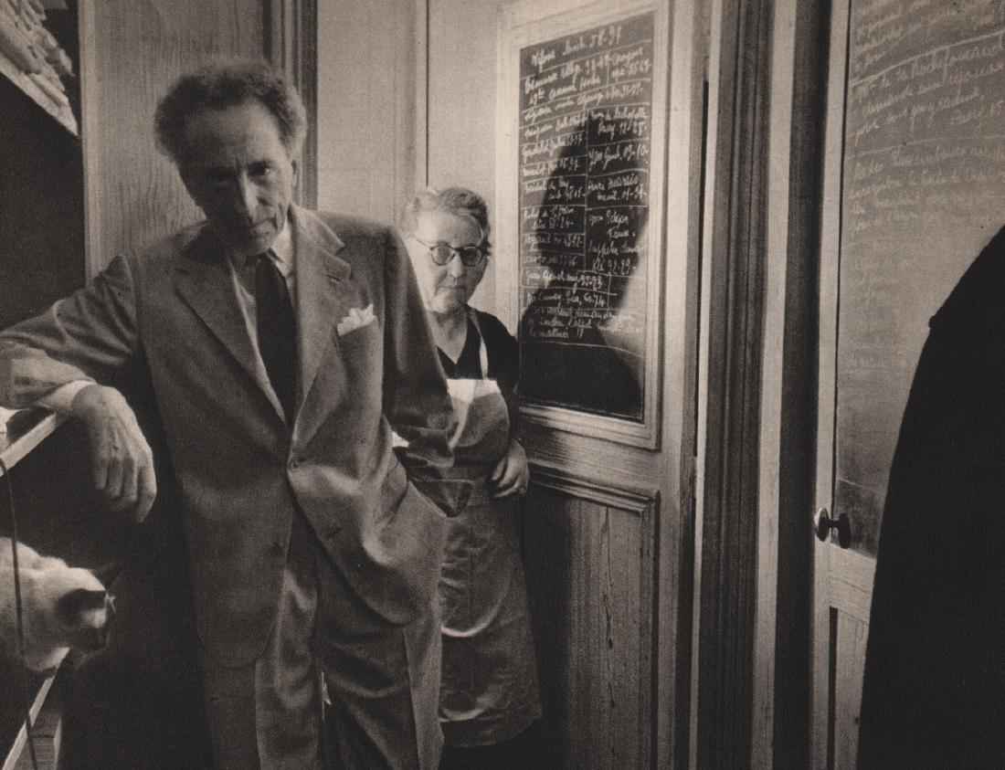 ROBERT DOISNEAU - Jean Cocteau