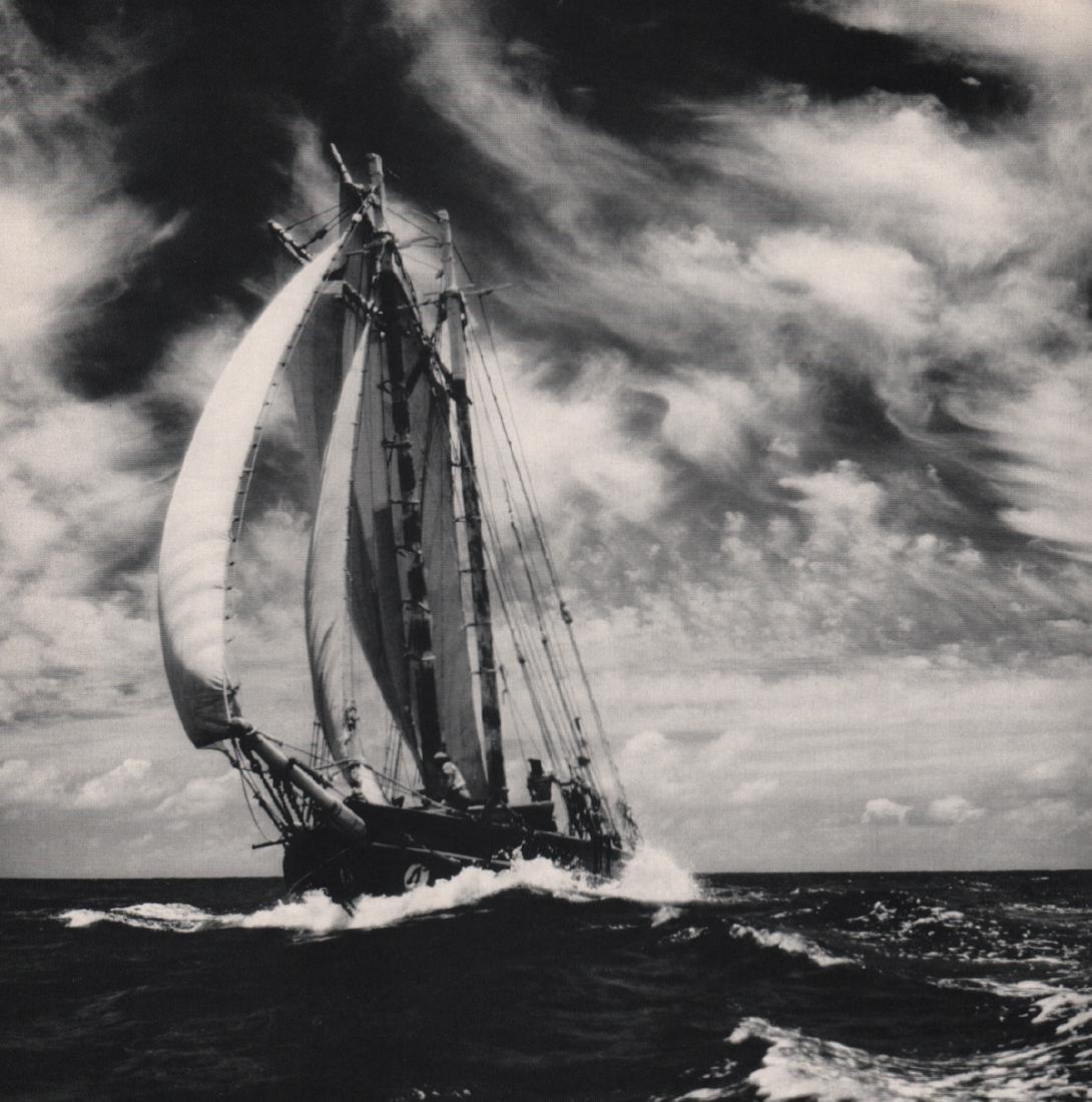 FRITZ HENLE - Caribbean Schooner, 1960