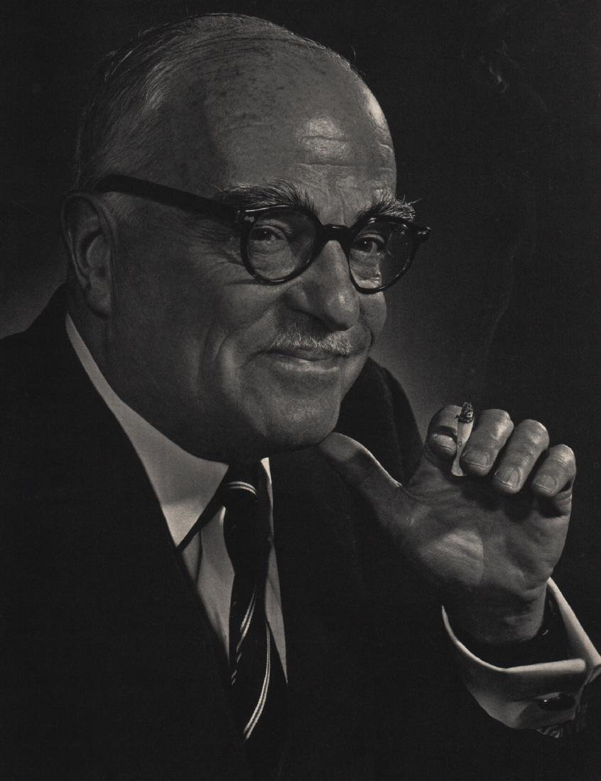 YOUSUF KARSH - Thornton Wilder