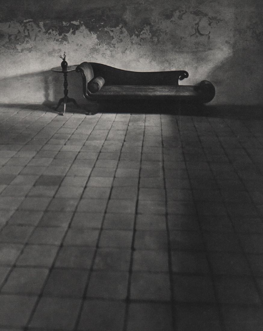 ANDRE KERTESZ - In the Cellar, Williamsburg 1948