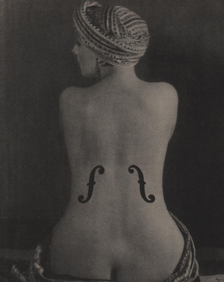 MAN RAY -  Violon D'Ingres
