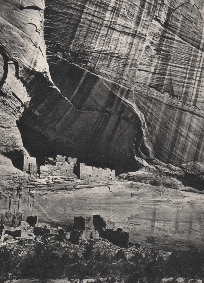 TIMOTHY H. O'SULLIVAN - Canyon de Chelley
