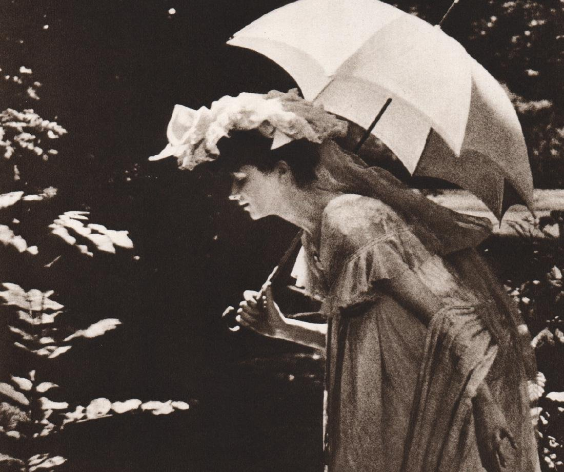 CONSTANT E. J. PUYO - Woman with Parasol