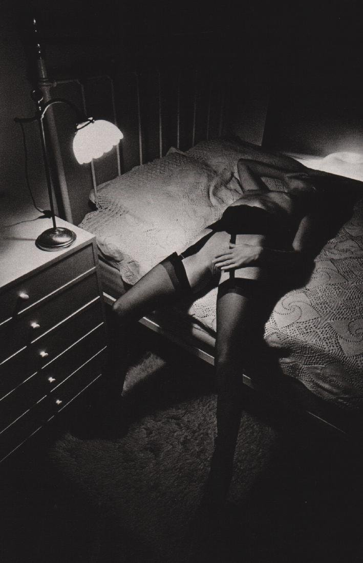 JEANLOUP SIEFF - Provocative Woman, Paris 1974